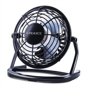 E-Prance Mini Quiet Desktop USB Fan